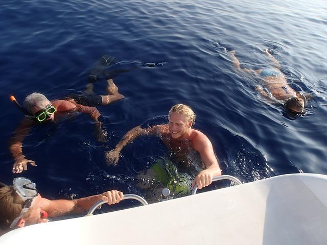 potápění při plachtění