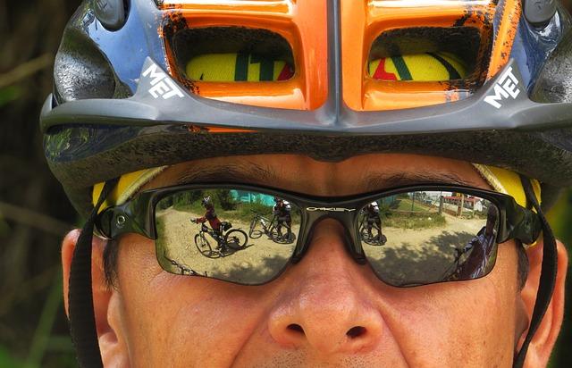 brýle cyklisty
