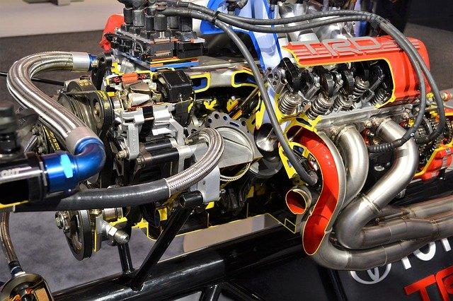 motor ze závoďáku