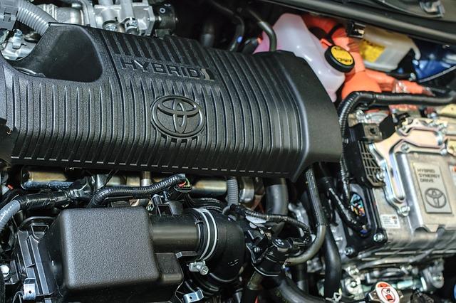 hybridní auto