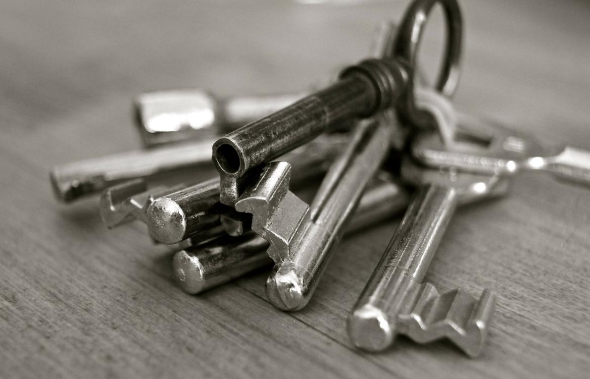 Domeček na klíče