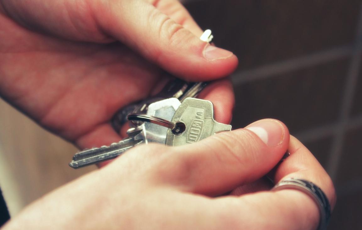 klíče v rukou